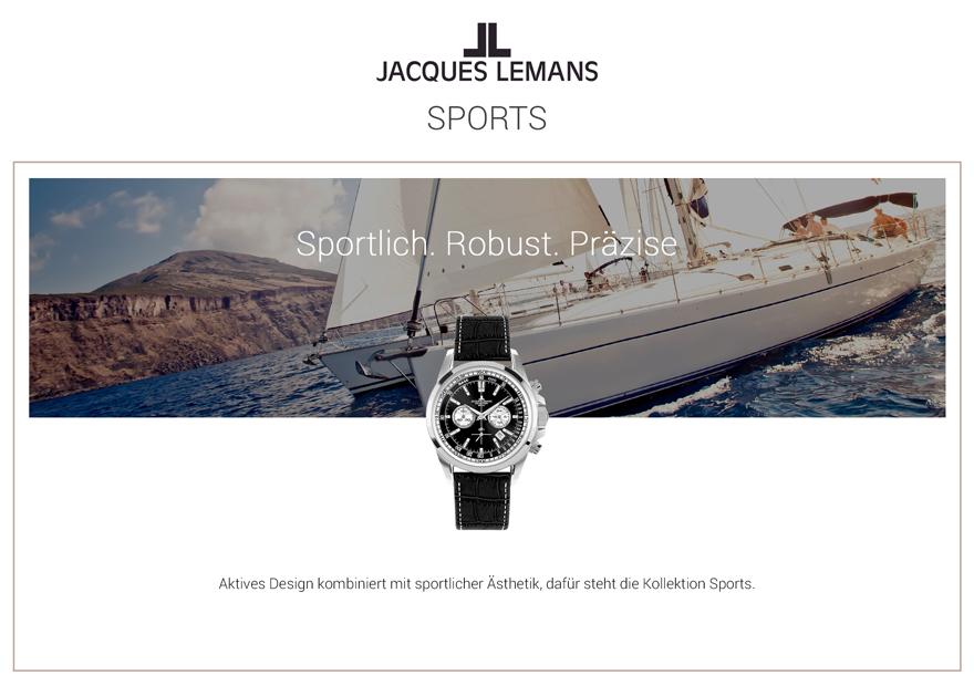 Jacques Lemans Uhren Sport