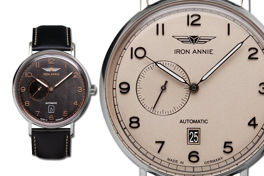 Iron Annie Uhr Amazonas Handaufzug